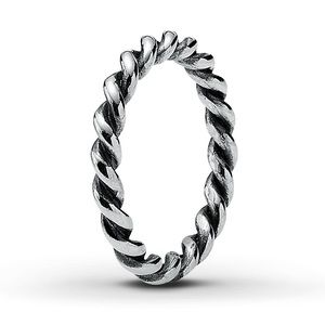 Pandora Twist Ring Sterling Silver